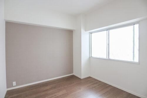 洋室4.5帖のお部屋です。