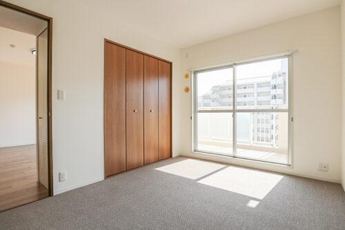 洋室約6.6帖のお部屋です。