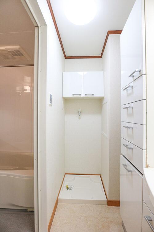 洗面スペースです。