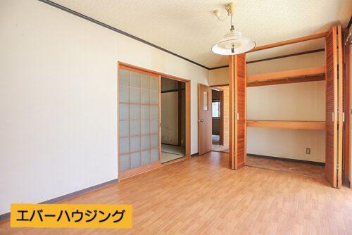 洋室7帖のお部屋です。現地(2021年5月)撮影