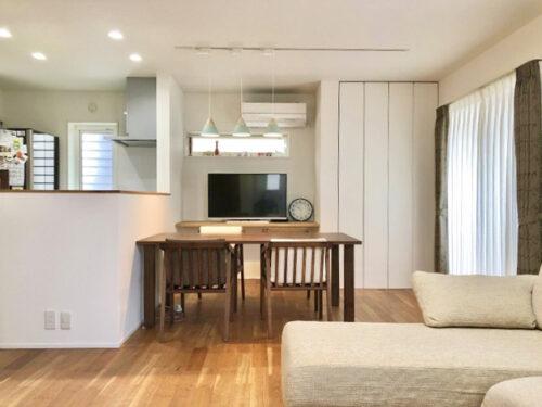 広々20帖以上のリビング♪ ソファやテーブルを置いてもゆとりのある広さです。