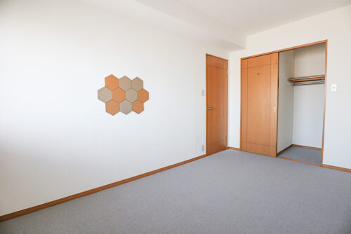 洋室7.3帖のお部屋です。
