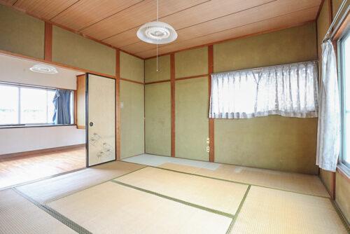 2階和室が洋室にリフォーム予定です。