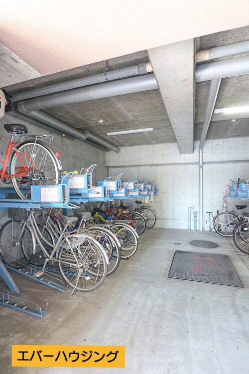 駐輪スペースです。