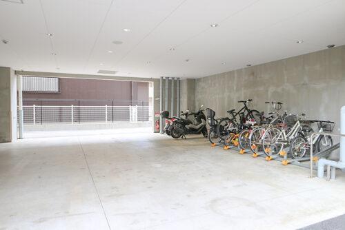 駐輪スペースです。要空き確認。