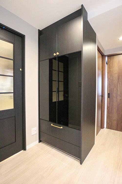 キッチン横には便利なパントリースペースもございます。室内(2021年10月)撮影
