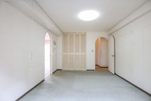 洋室12帖のお部屋です。