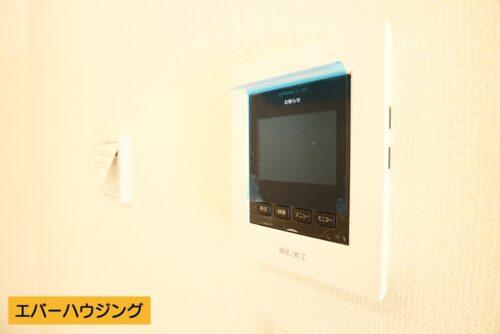 モニターホン付きなので、訪問者対応に便利です。