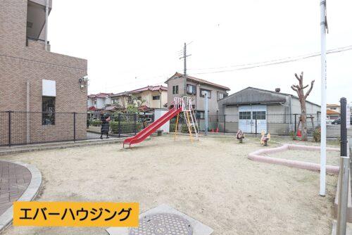 敷地内公園です。
