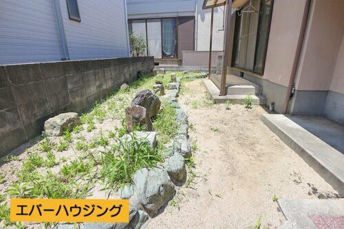 広々としたお庭スペースもございます。ガーデニングを楽しみたい方に♪現地(2021年5月)撮影