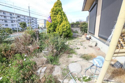 お庭スペースです。