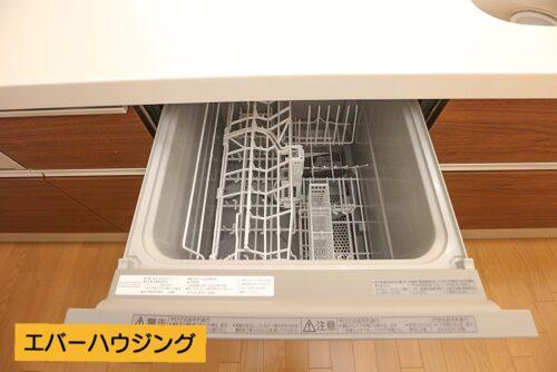 家事の手助けに便利な食洗機付きです。