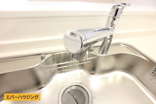 【同仕様写真です】浄水機能付きのキッチン水栓