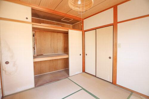 和室4.5畳のお部屋です。