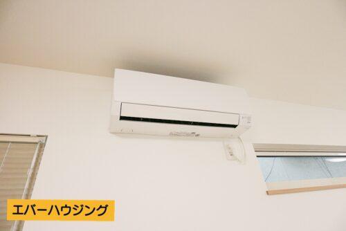 LDKにはエアコン設置済みです!