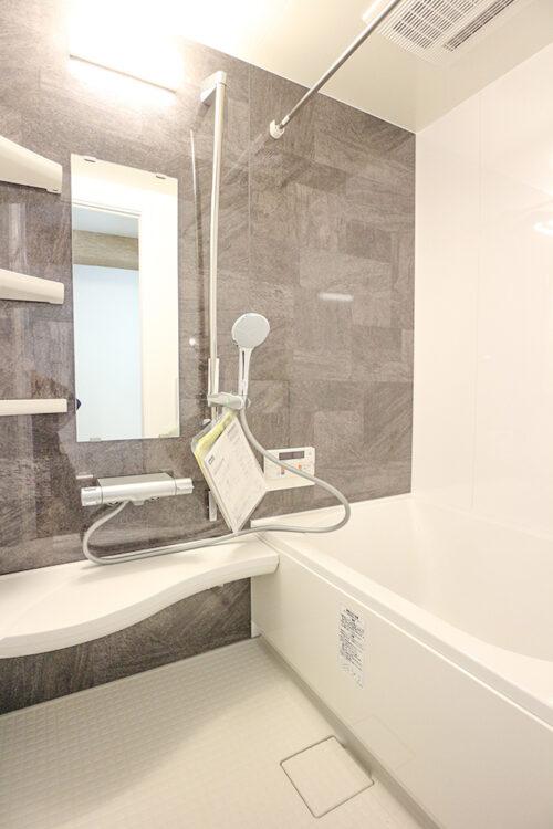 浴室も新調済み。