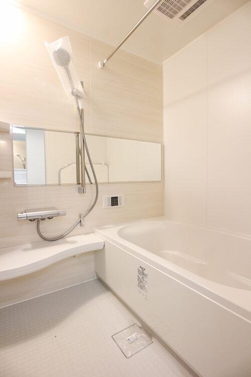 浴室広々!