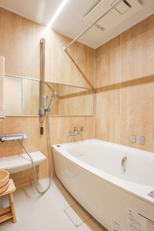 浴室には、マイクロバブルバスが付いています。疲れた身体を癒すお風呂♪現地(2021年9月)撮影