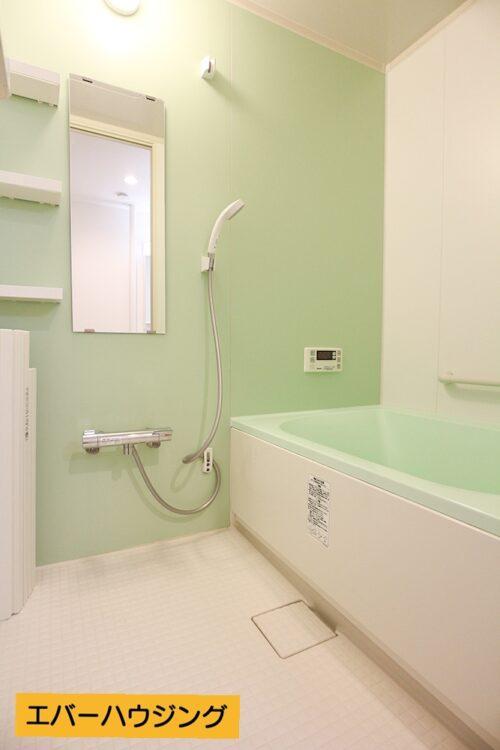 浴室もキレイです。