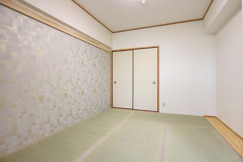 和室6畳のお部屋です。現地(2021年10月)撮影