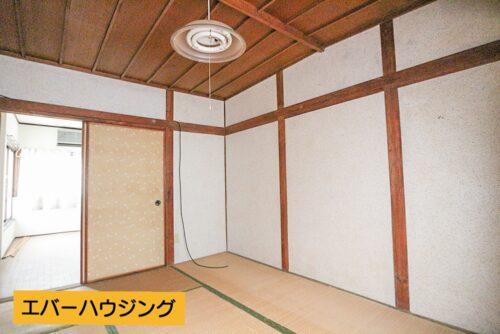 和室6畳のお部屋です。 弊社にてお客様のご要望に合わせた様々なリフォームプランをご用意しております。