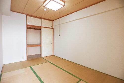 和室6畳の広さです。