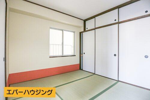 和室4.5畳のお部屋です。 畳・襖は貼り替え済みです。
