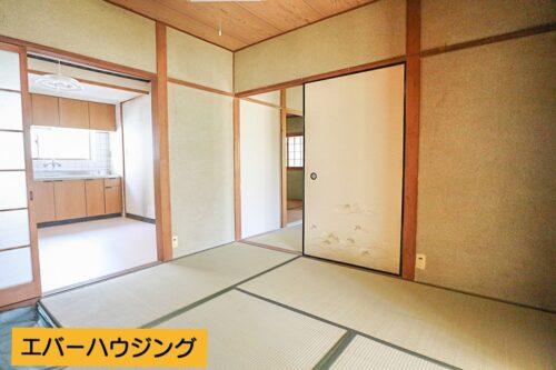 和室4.5帖のお部屋です。現地(2021年5月)撮影