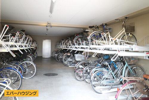 共用の駐輪スペース