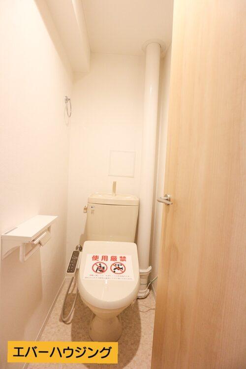 洗浄機能付き便座はリフォームにて新調済みです。