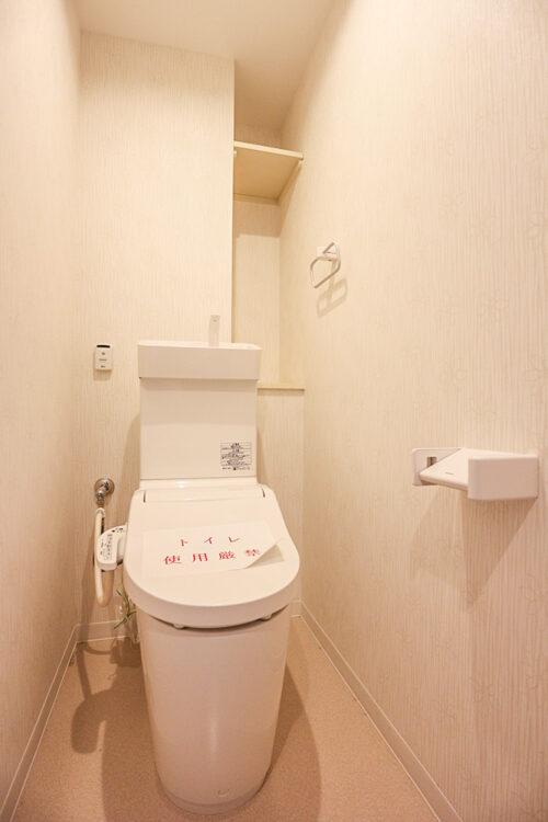洗浄機能付きのトイレ。新調済みです。