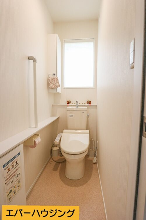 洗浄機能付き便座のトイレです。